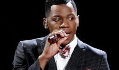 Chris Blue performs on The Voice Season 12 (NBC Photo)