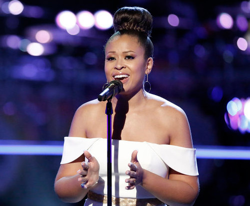 Felicia Temple deserves another moment in the spotlight on The Voice. (NBC Photo)