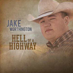 The cover art for Jake Worthington's upcoming EP, Hell of a Highway.