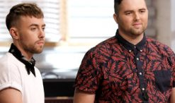 Hunter Plake and Jack Cassidy of The Voice Season 12 (NBC Photo)