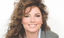 Shania Twain, key adviser on Top 12 night on The Voice. (NBC Photo)