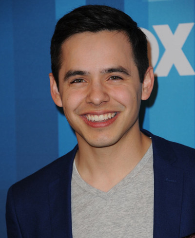 David Archuleta at last year's American Idol finale.