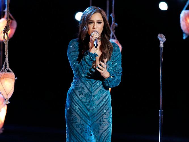 Alisan Porter of The Voice Season 10 (NBC Photo)