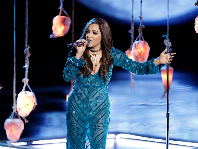 Alisan Porter of The Voice Season 10
