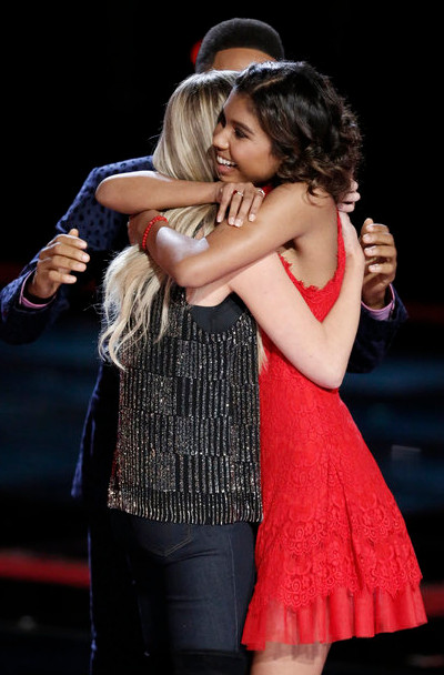 Aliyah Moulden, just 15, was the surprise among The Voice finalists announced Tuesday. (NBC Photo)