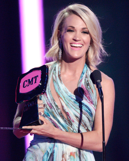 Carrie Underwood wins female video CMT