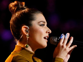 Lilli Passero performs on Tuesday's The Voice. (NBC Photo)