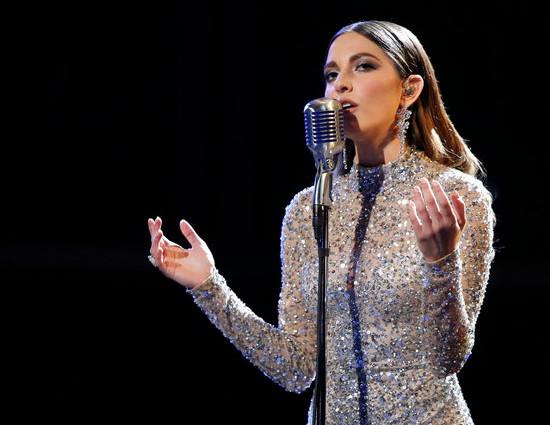 Lilli Passero performs on The Voice Season 12. (NBC Photo)