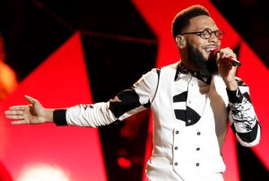 TSoul performs during last week's Top 10 show on The Voice. (NBC Photo)