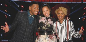 Chris Blue and Vanessa Ferguson will perform a duet on Monday night's The Voice, according to the show's official voting rules.