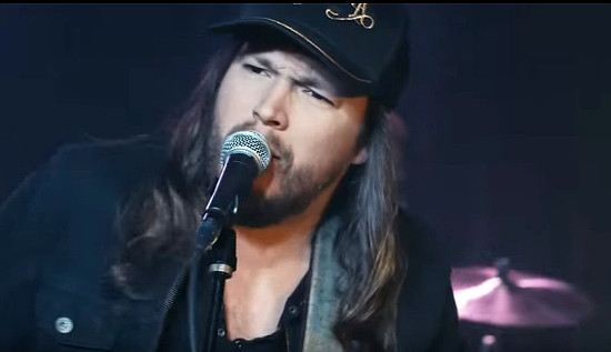 """Adam Wakefield in a scene from his new music video for the song """"Blame It On Me"""""""