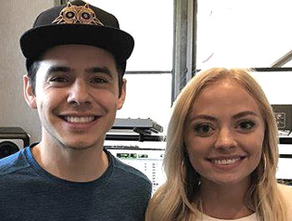 David Archuleta and Madilyn Paige