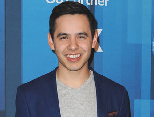 David Archuleta at the 2016 American Idol season finale