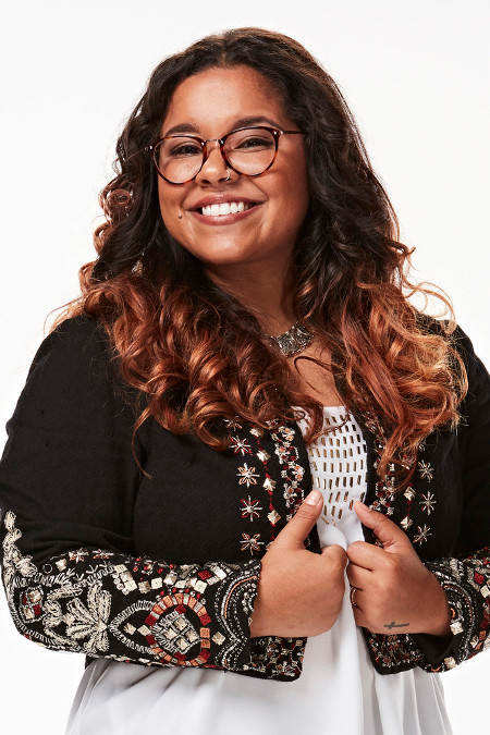 Brooke Simpson was one of just three singers to turn all four chairs on the first week of Season 13 of The Voice. (NBC Photo)