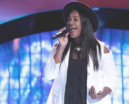 Keisha Renee earned the third four-chair turn of Season 13 on The Voice Tuesday night. (NBC Photo)