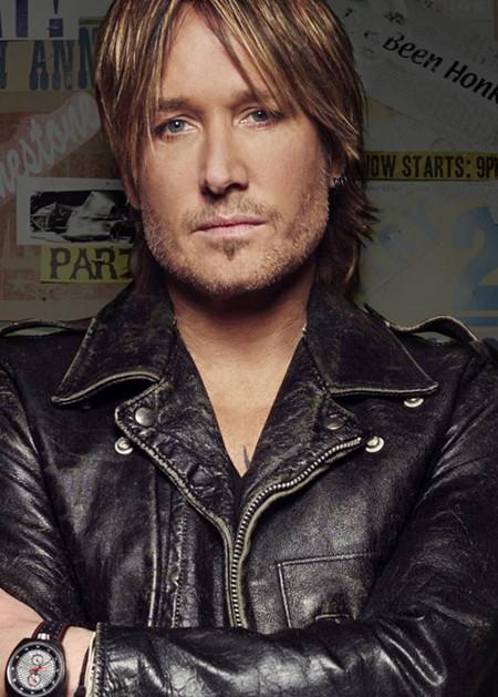 Keith Urban is up for Entertainer of the Year the 2017 CMA Awards in November.