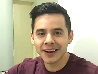 David Archuleta thanks fans for their dedication in a video message.
