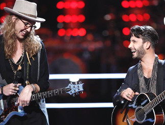 Dennis Drummond and Mitchell Lee on The Voice Season 13