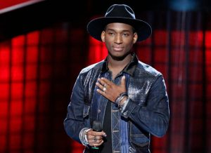 Jon Mero became just the sixth singer to turn all four chairs on The Voice in Season 13 Monday night. (NBC Photo)