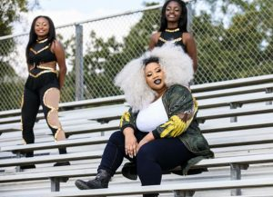 American Idol Season 15 runner-up La'Porsha Renae in a scene from her new msuic video.
