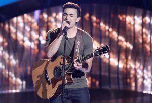 Ryan Scripps is a member of Team Blake Shelton on Season 13 of The Voice. (NBC Photo)
