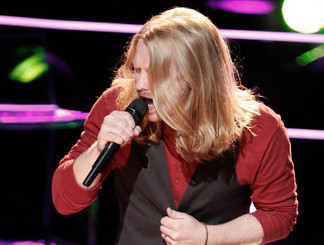 Adam Pearce of The Voice Season 13