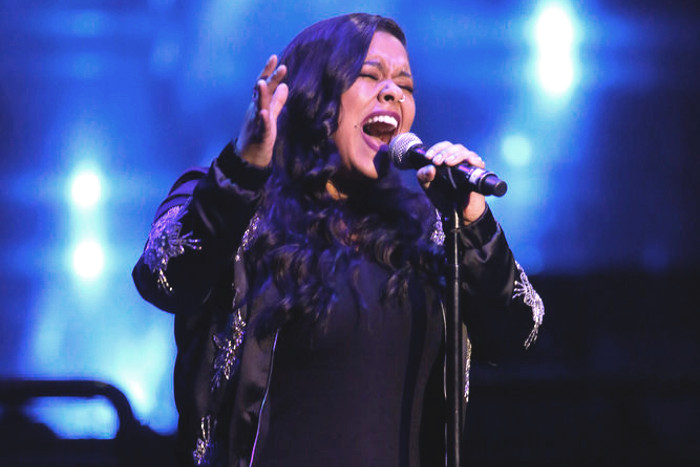 Brooke Simpson performs during The Voice Top 12 concert. (NBC Photo)