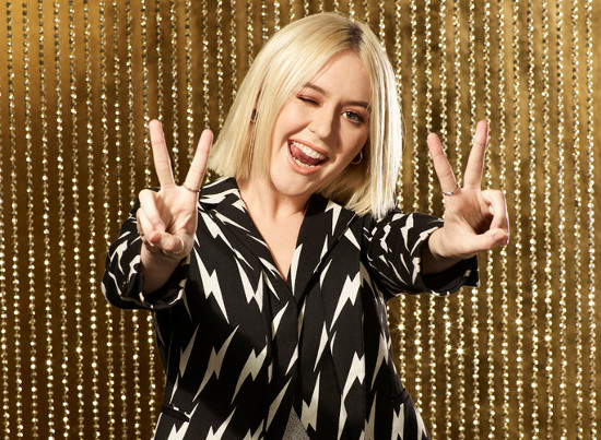 Chloe Kohanski had every right to be happy after her knockout round chart performance on The Voice. (NBC Photo)