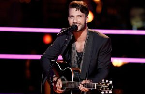 Mitchell Lee performs during the battle round on The Voice Season 13. (NBC Photo)
