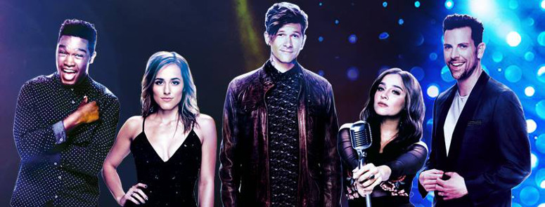 The stars of The Voice Neon Dreams include Matthew Schuler , Mary Sarah, Matt McAndrew, Alisan Porter and Chris Mann (NBC Photo)