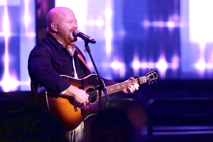 Red Marlow performs during The Voice Top 12 concert. (NBC Photo)