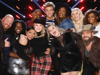 Top 11 on The Voice Season 13