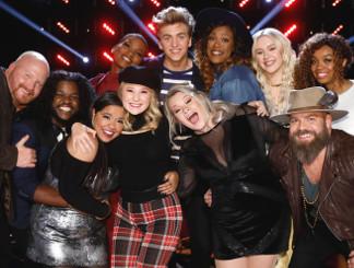 Top 11 on The Voice Season 13