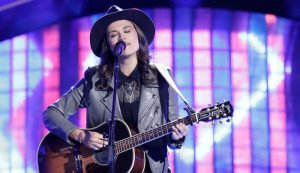 Whitney Fenimore during the blind auditions on The Voice Season 13. (NBC Photo)