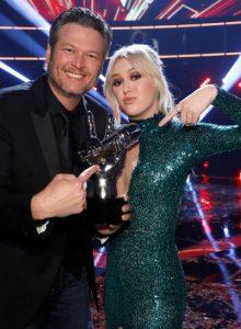 Blake Shelton and Chloe Kohanski made a winning team on Season 13 of The Voice. (NBC Photo)