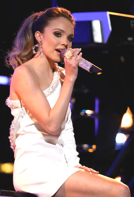 Danielle Bradbery on her return to The Voice earlier in Season 13. (NBC Photo)
