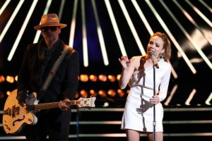 Danielle Bradbery performs Worth It on The Voice. (NBC Photo)