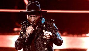 Jon Mero performs during Season 13 of The Voice. (NBC Photo)
