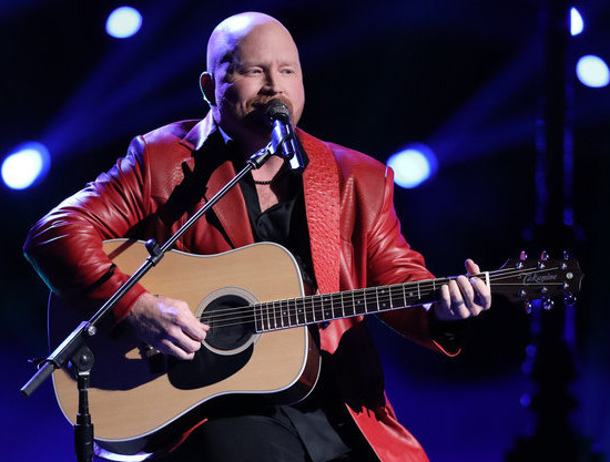 "Red Marlow performs ""To Make You Feel My Love"" on The Voice Monday night."