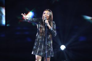 Can Shi'Ann Jones escape the bottom three this week on The Voice? (NBC Photo)