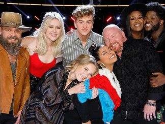 The Top 8 on The Voice Season 13