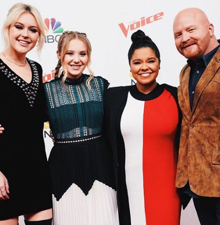 The Season 13 Top 4, Chloe Kohanski, Addison Agen, Brooke Simpson and Red Marlow (NBC Photo)