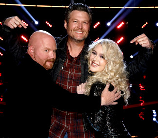 Two Team Blake members are in The Voice finals, Red Marlow and Chloe Kohanski (NBC Photo)