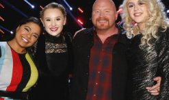 Voice finalists Brooke Simpson, Addison Agen, Red Marlow and Chloe Kohanski
