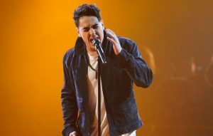 Ash Minor performs on Week Two of The Four. (FOX Photo)