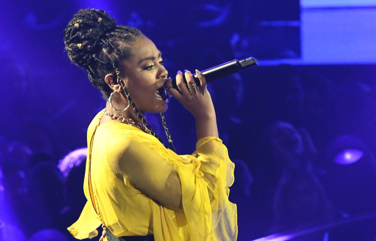 Candice Boyd performs on The Four Thursday night. (FOX Photo)