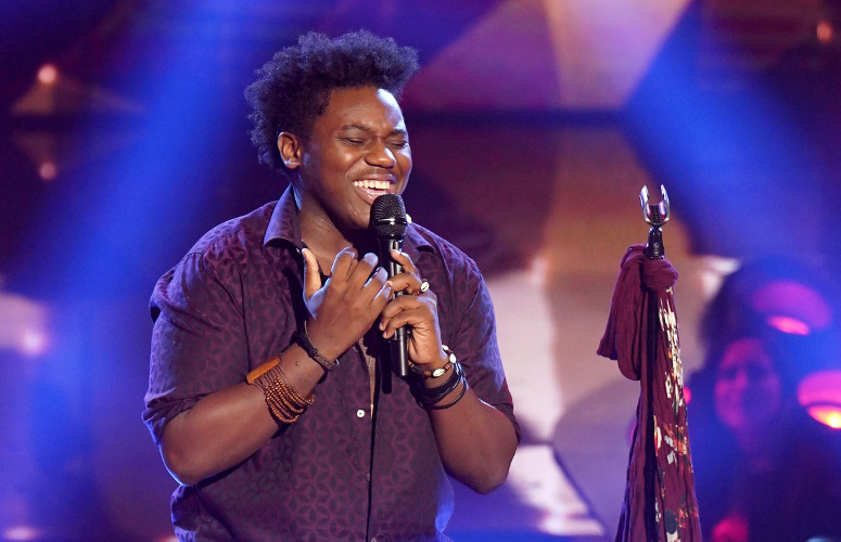 "Edward Callier performed ""Jealous"" on The Four, but failed to make it past his audition. (FOX Photo)"