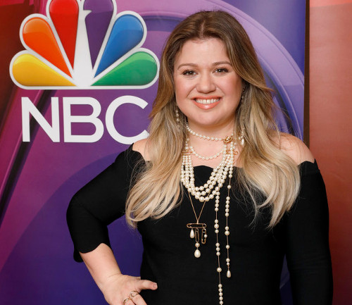Kelly Clarkson, shown during an NBC press outing earlier this year, will be up for another Grammy Sunday night. (NBC Photo)
