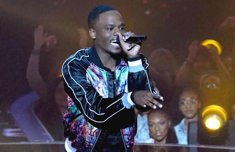 "Rell Jerv performed ""Feeling Alright"" on The Four Thursday night, but couldn't fend off a challenge from Nick Harrison. (FOX Photo)"