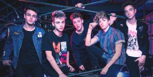 Why Don't We includes former American Idol contestant Daniel Seavey (at right).